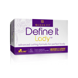 Queen Fit Define It Lady 60 tab.