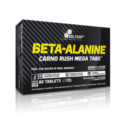 Olimp Beta Alanine Carno Rush Mega Tabs 80 tab.
