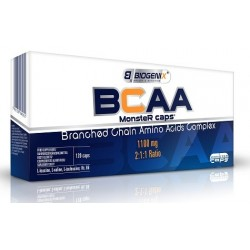 Biogenix BCAA 120 caps