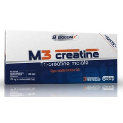 Biogenix M3 Tri Creatine Malate 300 caps