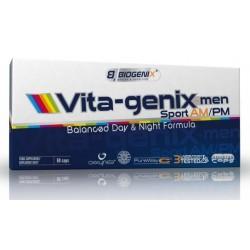 Biogenix VITA genix Men Sport AM-PM 60 kap.