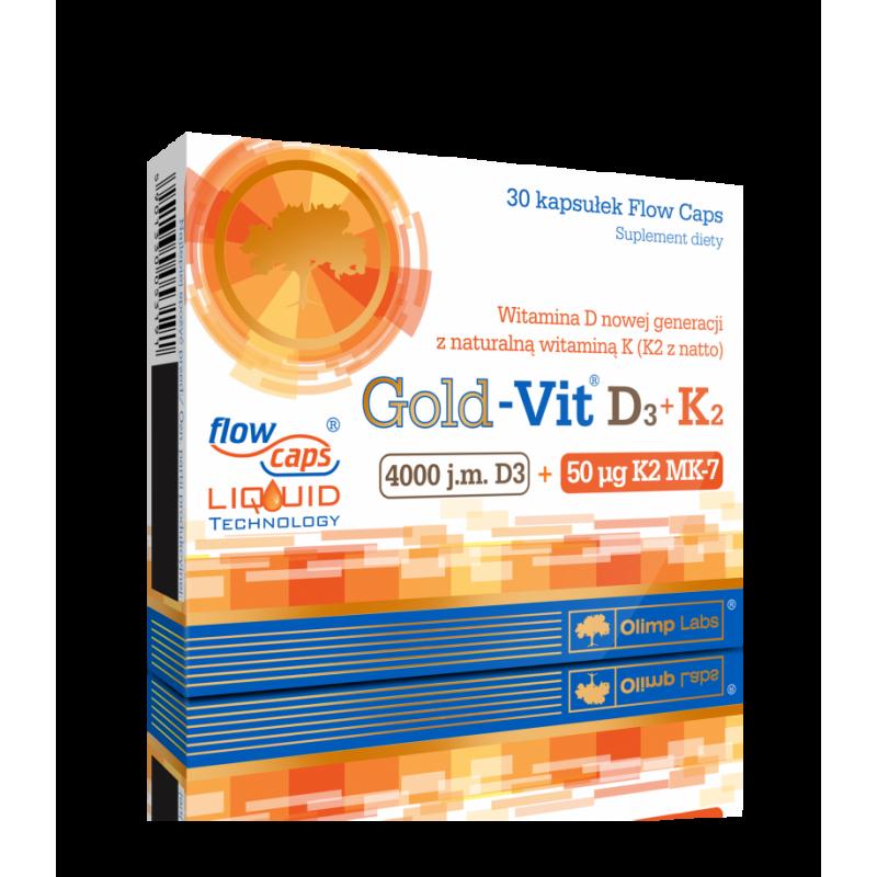 Olimp Gold Vit D3 + K2 30 Vitamins D3 & K2 Olimp Labs On-Line Shop