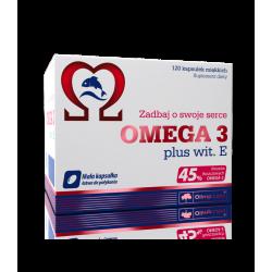 Olimp Omega 3 Plus witamina E 120 kap.