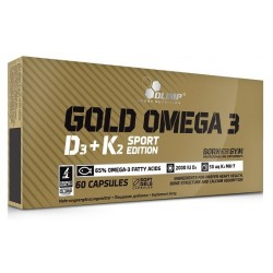 Olimp Gold Omega-3 D3 + K2 Sport Edition 60 kap