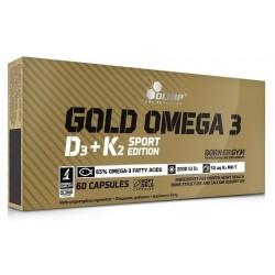 Olimp Gold Omega-3 D3 + K2 Sport Edition 60 caps