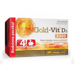 Olimp Gold Vit D3 2000 120 tab