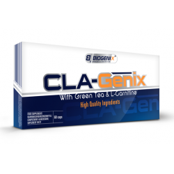 Biogenix CLA-Genix z zieloną herbatą & L-carnitine 60 kap