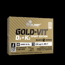 Olimp Gold Vit D3 + K2 Sport Edition 60 kap.
