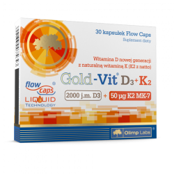 Olimp Gold Vit D3 + K2 30 kap.