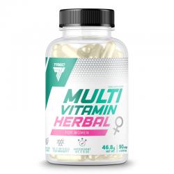 Trec Multivitamin Herbal for Women 90 kap